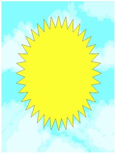 Free Cloudy Sky With Sun Royalty Free Stock Photo - 313415