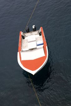 Free Orange Boat Stock Photography - 314162