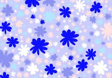 Flowered Design 8 Royalty Free Stock Image