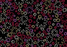 Flowered Design 9 Royalty Free Stock Photos