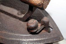 Free Old Iron Detail Royalty Free Stock Photo - 315865