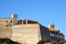 Free Old Town Ibiza Royalty Free Stock Images - 316629