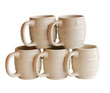 Free Stacked Coffe Mugs Stock Photo - 317030