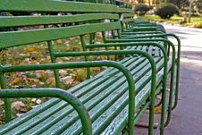 Free Empty Benches Stock Photo - 317430