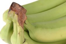 Free Green Bananas Royalty Free Stock Photos - 317938