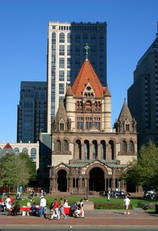 Free Copley Square, Boston Royalty Free Stock Photo - 317945