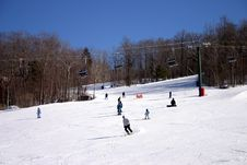 Free Loon Mountain Ski Resort Stock Images - 318034