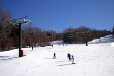 Free Loon Mountain Ski Resort Royalty Free Stock Photo - 318035