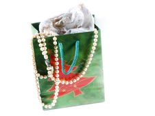 Gift Bag Royalty Free Stock Photos