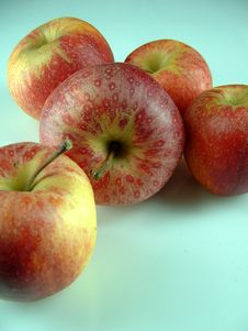 Free Group Of Apples Stock Photos - 318463