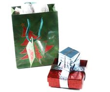 Free Gift Bag,presents Stock Photos - 318483