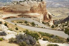 Free Scenic Mountain Highway Stock Photos - 318953