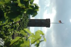 Free Stone Tower And Vinyards Royalty Free Stock Image - 319216