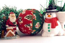 Free SantaFrosty Royalty Free Stock Images - 319639