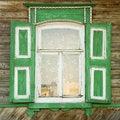 Free Traditional Russian Window Stock Photo - 3104280