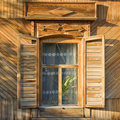 Free Traditional Russian Window Royalty Free Stock Photos - 3104528