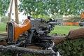 Free Machine Gun Displayed Royalty Free Stock Photography - 3107047