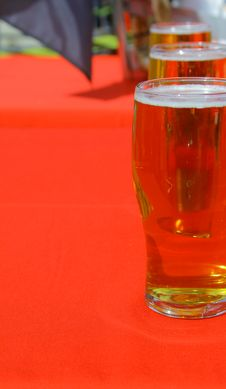 Free Mugs Of Beer Royalty Free Stock Photo - 3100085
