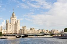 Free Old Moscow Skyscraper 4 Stock Image - 3100211
