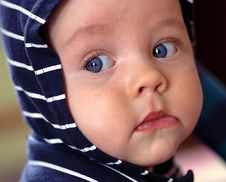 Free Infant With Blue Eyes Royalty Free Stock Photo - 3100395