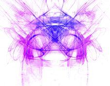 Free Symmetrical Smoke Abstract Stock Photography - 3100852