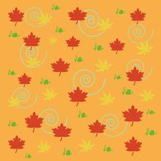 Free Autumn Leaves Scrapbook Royalty Free Stock Photography - 3101007