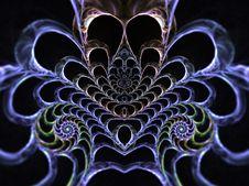 Free Skeleton Spiral Royalty Free Stock Photos - 3101068