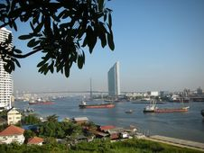 Free Chao Praya River Royalty Free Stock Photo - 3102525