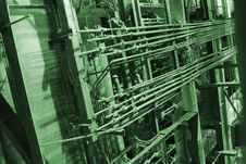 Free Pipes Inside Energy Plant Royalty Free Stock Photos - 3103638