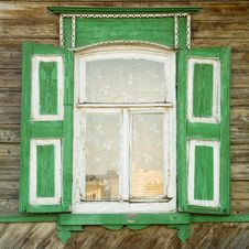 Free Traditional Russian Window Stock Photo - 3104280