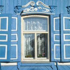 Free Traditional Russian Window Stock Images - 3104304