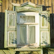 Free Traditional Russian Window Stock Photo - 3104440