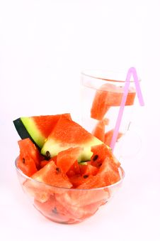 Free Watermelon Drink Stock Photo - 3104520