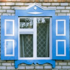 Free Traditional Russian Window Stock Images - 3104574