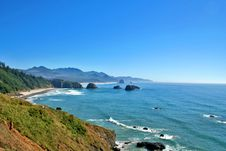 Free Cannon Beach Oregon Royalty Free Stock Image - 3104666