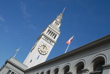Free SF Ferry Building Clock Tower Royalty Free Stock Photo - 3104765