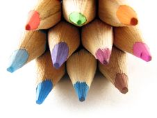 Free Coloured Pencils Stock Images - 3104884