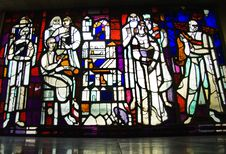 Free Stained Glass Window Royalty Free Stock Image - 3104976
