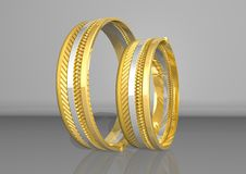 Free Golden Rings Royalty Free Stock Images - 3105319