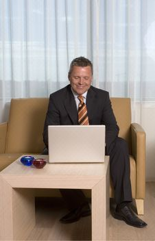 Free Businessman Working Stock Photography - 3106112