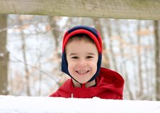Free Boy In Winter Royalty Free Stock Photography - 3106347