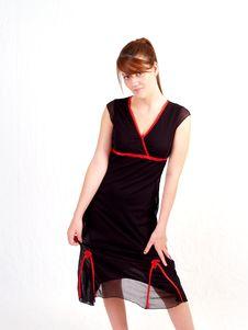 Free Beautiful Brunette Teen Stock Photography - 3106822