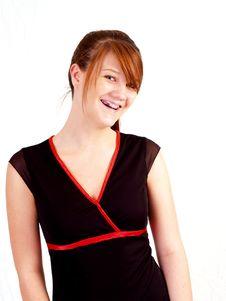 Free Beautiful Brunette Teen Stock Image - 3106891