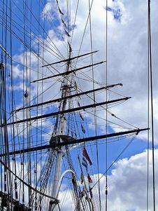 Free Back Mast Royalty Free Stock Photo - 3106915
