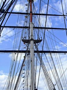 Front Mast Stock Images