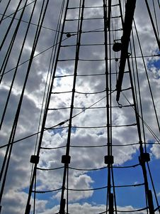 Free Yacht Mast Royalty Free Stock Images - 3107009