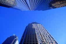 Free Office Towers Royalty Free Stock Image - 3107196