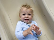 Free Frustrated Baby Royalty Free Stock Images - 3107279