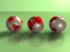 Free Earth 3d Stock Photography - 3107322