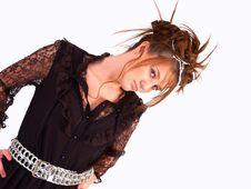 Free Beautiful Brunette Teen Stock Image - 3107371